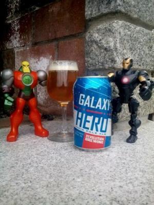 Revolution Brewing Company Galaxy Hero