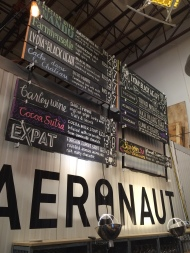 Taplist Aeronaut Brewery