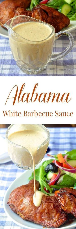 Alabama White Barbecue Sauce
