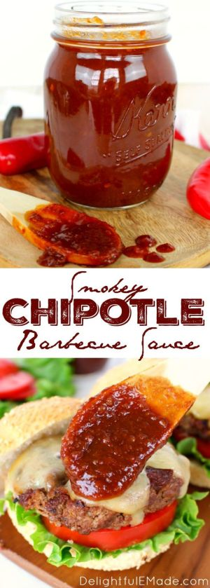 Smoky Chiptole Barbecue Sauce
