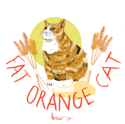 fat orange cat brewing