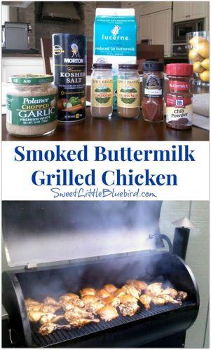 Smoked Buttermilk Chicken